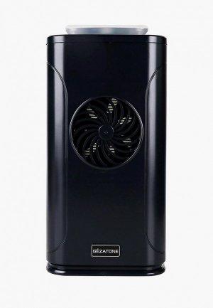 Очиститель воздуха Gezatone ультрафиолетовый с озонатором и HEPA фильтром AP500. Цвет: черный