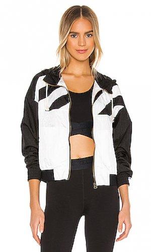 Спортивная кофта stripe detail Champion. Цвет: black & white