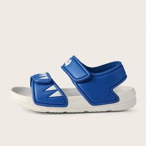 Спортивные сандалии в мультипликационной форме для мальчиков SHEIN. Цвет: синий