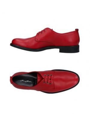 Обувь на шнурках BRUNO BORDESE. Цвет: красный