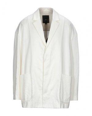Пиджак TOM REBL. Цвет: слоновая кость