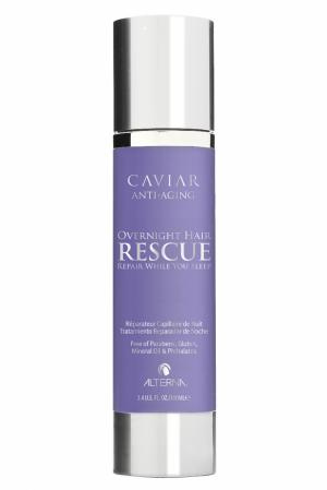 Ночная восстанавливающая эмульсия для волос Caviar Overnight Hair Rescue 100ml Alterna. Цвет: без цвета