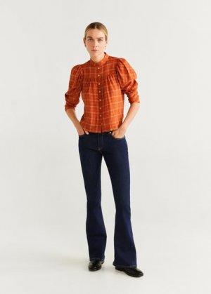 Расклешенные джинсы Flare - Mango. Цвет: синий
