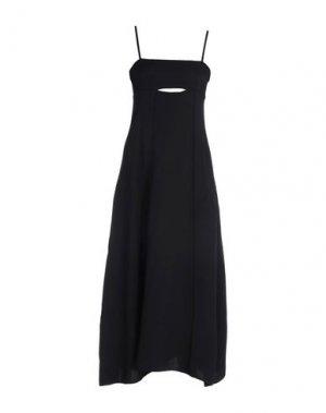 Длинное платье 3.1 PHILLIP LIM. Цвет: черный