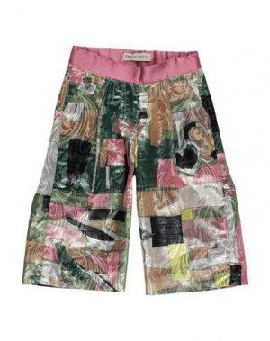 Повседневные брюки EMILIO PUCCI. Цвет: зеленый