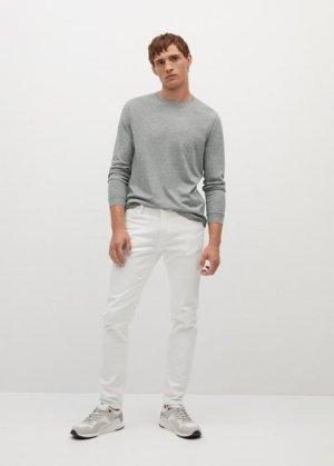 Хлопковая рубашка с длинным рукавом - Gareth Mango. Цвет: серый