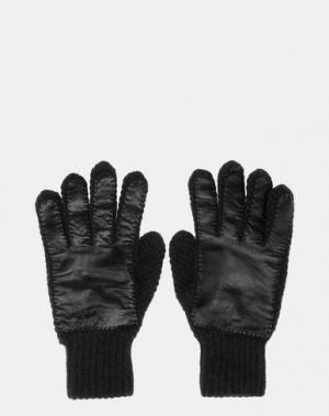 Перчатки JIL SANDER. Цвет: черный