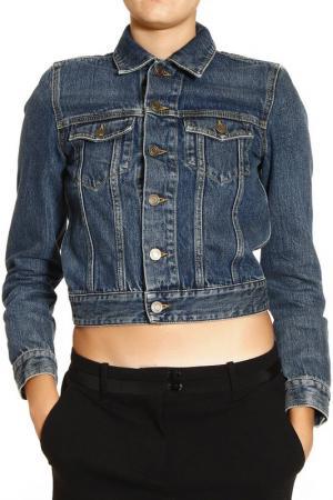 Куртка Saint Laurent. Цвет: синий