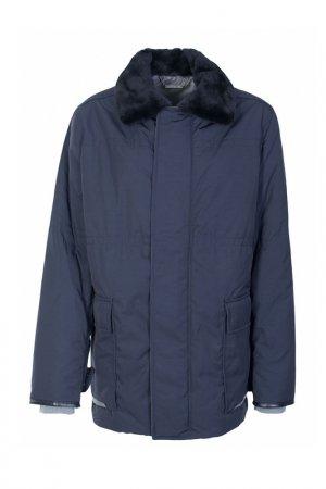 Куртка Cortigiani. Цвет: синий