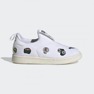 Кроссовки-слипоны Stan Smith 360 Originals adidas. Цвет: черный