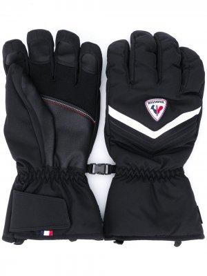 Перчатки Legend IMPR со вставками Rossignol. Цвет: черный