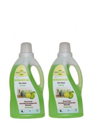 Средство для мытья пола MOLECOLA. Цвет: желтый, зеленый