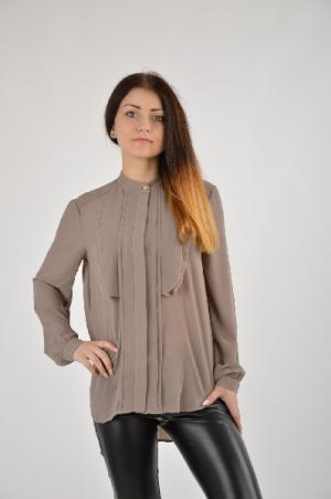 Рубашка Isabel Queen. Цвет: коричневый