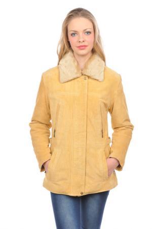Куртка Arturo. Цвет: желтый