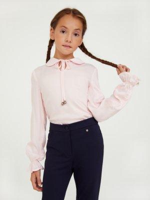 Блузка для девочки Finn-Flare. Цвет: 342 roseate