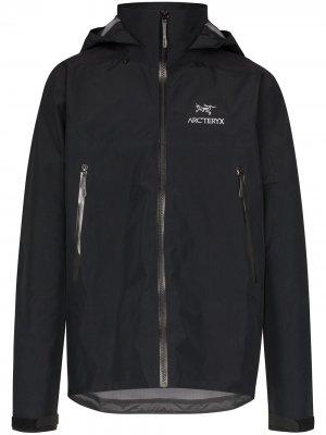Arcteryx куртка Beta AR Arc'teryx. Цвет: черный