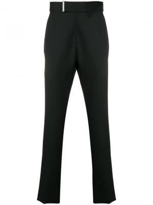 Классические строгие брюки Tom Ford. Цвет: черный