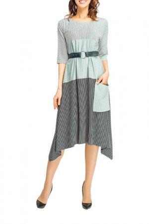 Платье Giulia Rossi. Цвет: зеленый