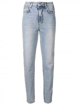Tara log tape jeans Fiorucci. Цвет: синий
