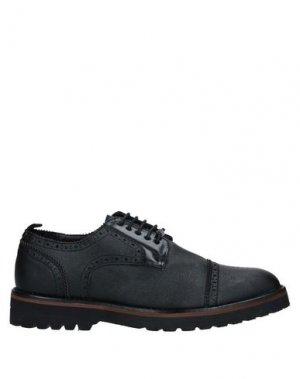 Обувь на шнурках GIANMARCO VENTURI. Цвет: черный