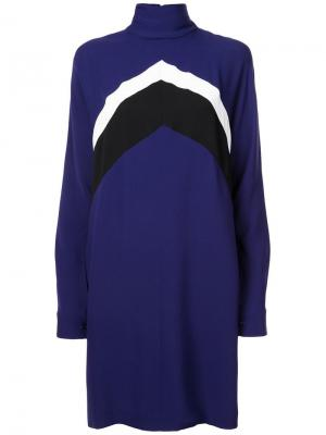 Платье с узором шеврон Derek Lam
