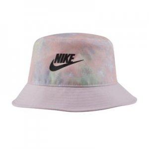 Панама с принтом тай-дай для школьников Nike - Розовый