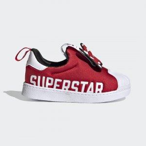 Кроссовки-слипоны Superstar 360 X Originals adidas. Цвет: красный