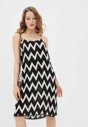 Платье Brunotti Ruby. Цвет: черный