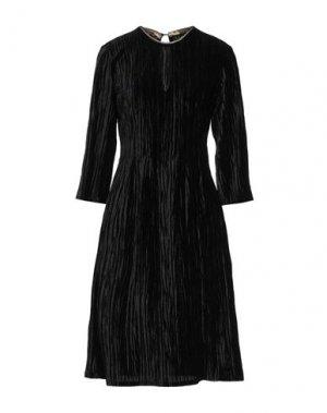 Платье до колена DIXIE. Цвет: черный