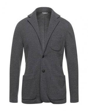Пиджак HEVÒ. Цвет: серый
