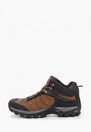 Ботинки трекинговые Ascot VORTEX MID. Цвет: коричневый