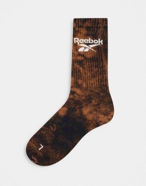 Черные выбеленные носки Classics-Черный цвет Reebok