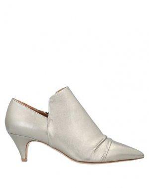 Полусапоги и высокие ботинки J|D JULIE DEE. Цвет: платиновый