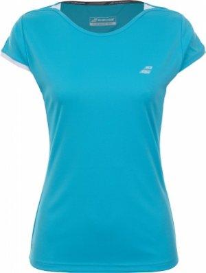 Футболка женская Perf Cap, размер 40-42 Babolat. Цвет: голубой