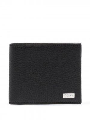 Бумажник Crosstown BOSS. Цвет: черный