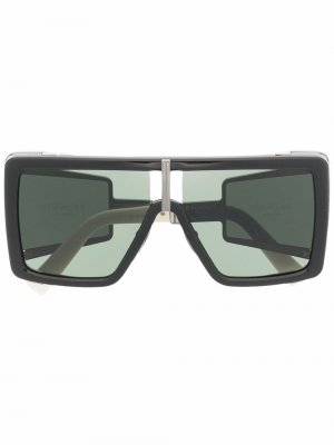 Солнцезащитные очки Wonder Boy II Balmain Eyewear. Цвет: черный