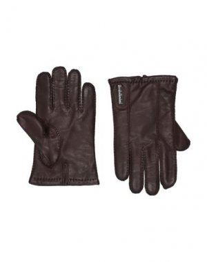 Перчатки BALDININI. Цвет: темно-коричневый