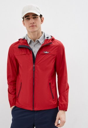 Куртка Aeronautica Militare. Цвет: красный
