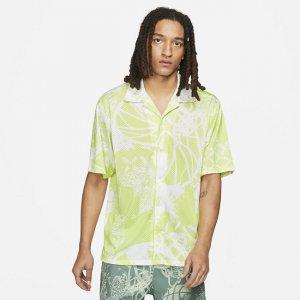 Мужская рубашка с коротким рукавом и принтом Jordan Flight - Зеленый Nike