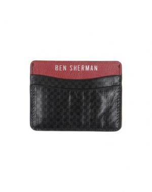 Чехол для документов BEN SHERMAN. Цвет: красный