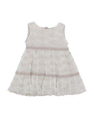 Платье ELSY. Цвет: бежевый