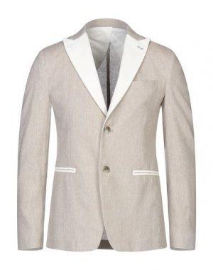 Пиджак MASSIMO REBECCHI. Цвет: бежевый