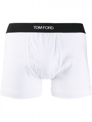 Боксеры с логотипом Tom Ford. Цвет: белый