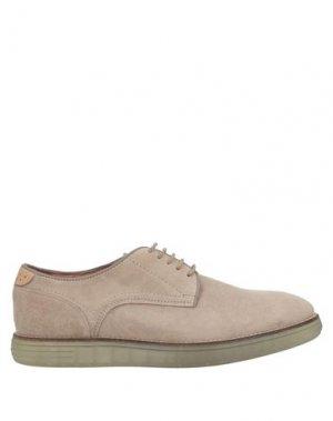 Обувь на шнурках HUDSON. Цвет: песочный