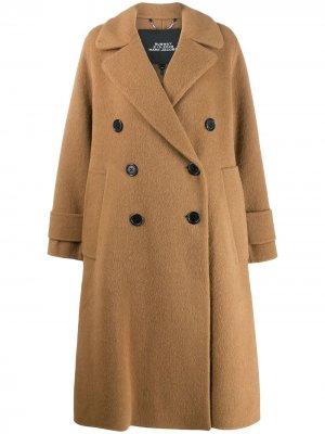 Двубортное пальто Marc Jacobs. Цвет: нейтральные цвета