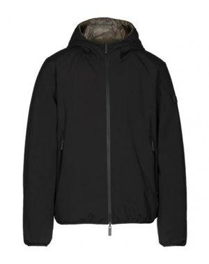 Куртка BREKKA. Цвет: черный