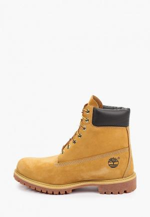Тимберленды Timberland 6 Inch Premium Boot YELLOW. Цвет: коричневый
