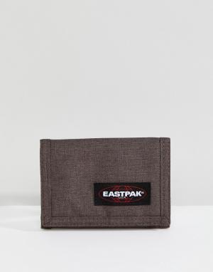 Коричневый бумажник Eastpak. Цвет: коричневый