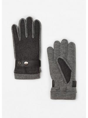 Перчатки - DAVID MANGO MAN. Цвет: серый