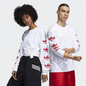 Лонгслив Shmoo (Унисекс) Originals adidas. Цвет: белый
